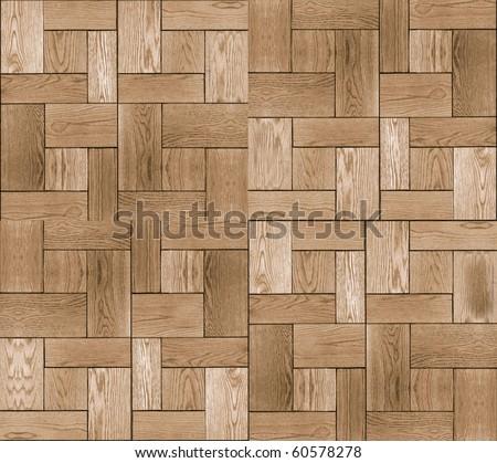Seamless pine tree floor texture - stock photo