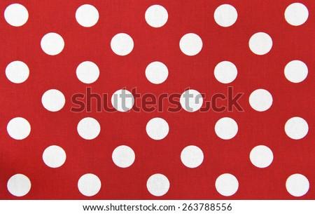 seamless polka dot background - stock photo