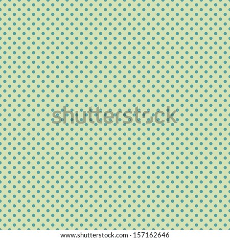 Seamless Polka Dot Pattern - stock photo
