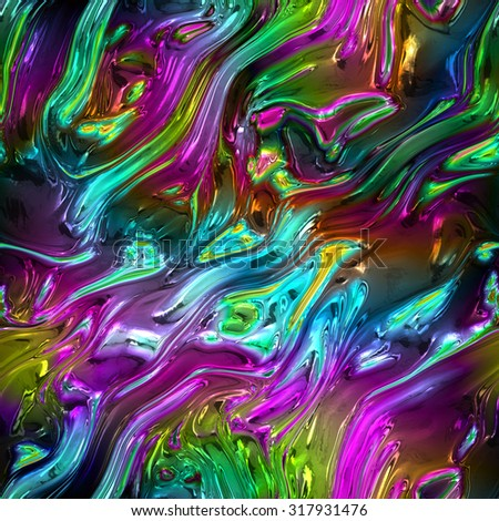Seamless rainbow glass pattern   - stock photo