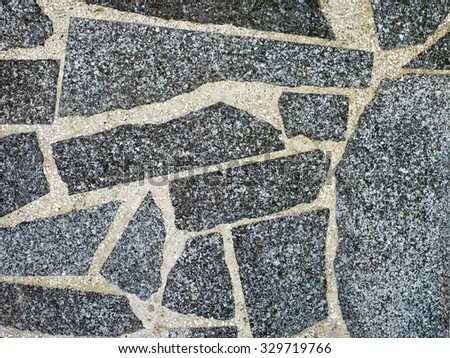 Seamless rock stone background for design and decorate - stock photo