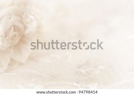 Seamless romantic background. Wedding, valentine, engagement, anniversary theme - stock photo