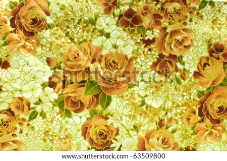 Seamless rose background - stock photo