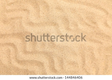 Seamless sand on a whole background. Texture. - stock photo