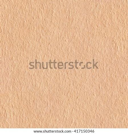 Seamless square texture. Cream paper. Tile ready. - stock photo