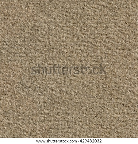 Seamless square texture. Dark brown paper texture. Tile ready. - stock photo