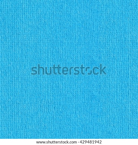 Seamless square texture. Pastel light blue color tone water color paper texture. Tile ready. - stock photo