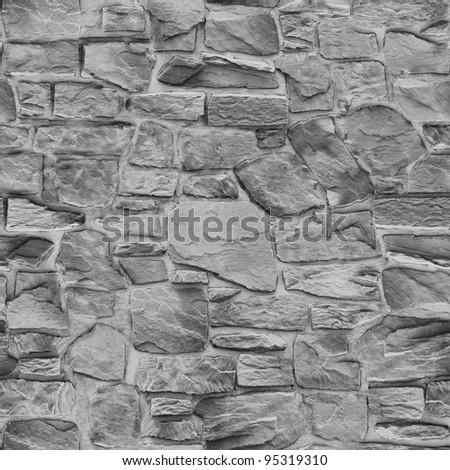 Seamless stone - stock photo