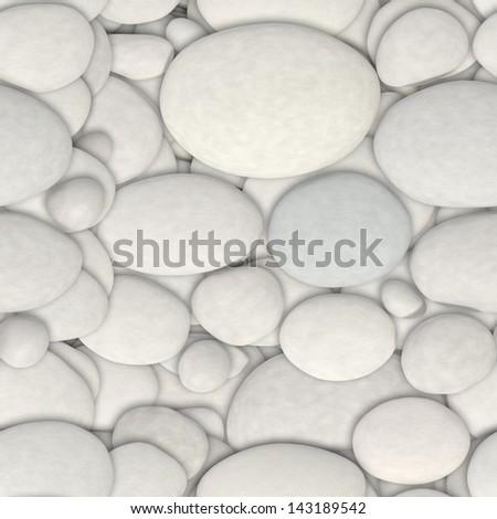 seamless stone texture - stock photo