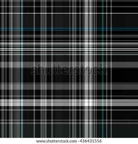 seamless tartan pattern background - stock photo