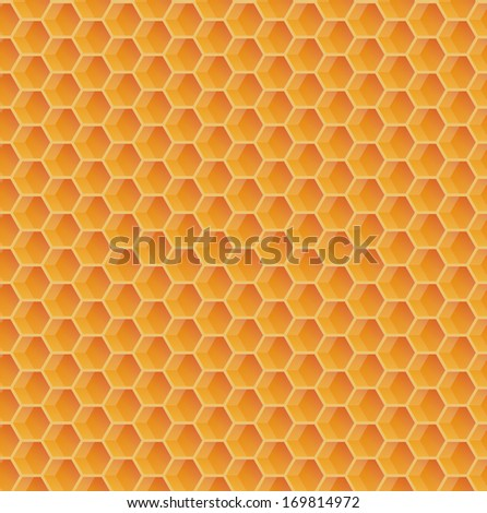 seamless texture in the form of a honeycomb