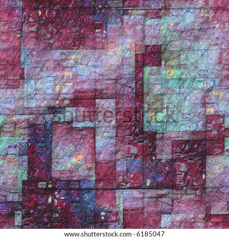 seamless texture multicolored abstract composition - stock photo