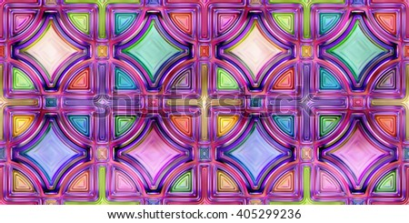 Seamless texture of abstract shiny colorful