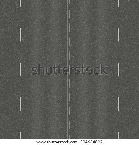 Seamless texture of asphalt pavement. - stock photo