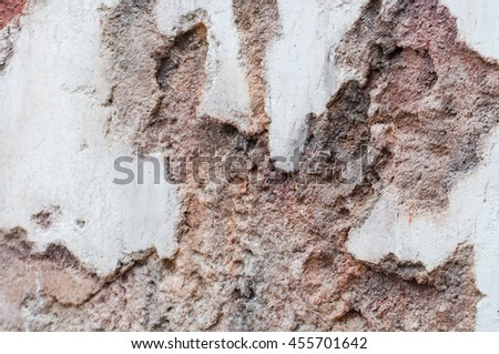 Seamless texture of brown stone - Stone tile floor paving fragment - Texture of old rock - stock photo