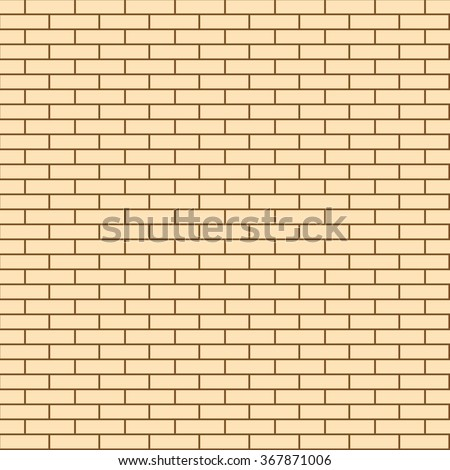 Seamless Texture of the Wall Facing the light Brick. Illustration Building Background.  - stock photo