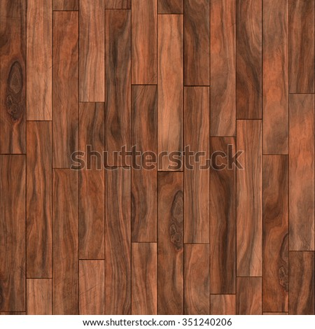 Seamless texture of wooden parquet mahogany color. A high resolution. Laminate interior. - stock photo