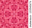 Seamless texture - vintage ornamental pattern in pink colors. Raster version - stock
