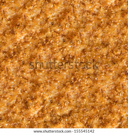 Seamless Tileable Texture of  Surface of Roast Meat in Breadcrumbs. - stock photo
