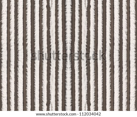 Seamless tileable vertically striped concrete wall background. - stock photo