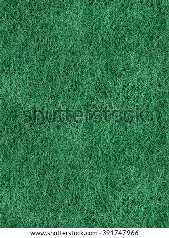 seamless tiled sponge green color texture hi-res / Close up green color washing pad / Sponge texture background / sponge textured background, material texture - stock photo