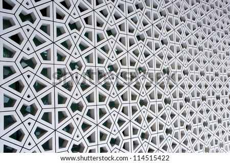 Seamless Traditional Islamic Pattern and Design used as a Background - stock photo