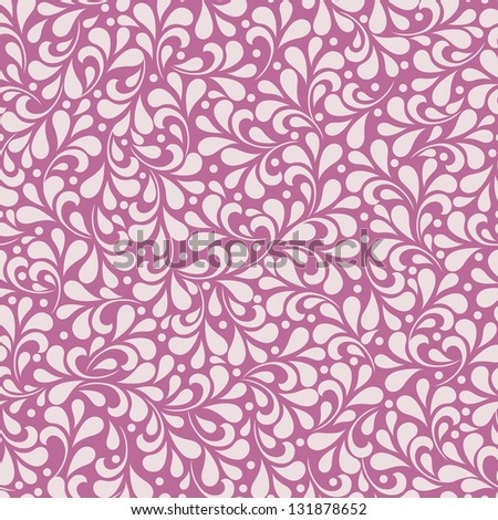 Seamless wallpaper pattern. For vector version, see my portfolio. - stock photo