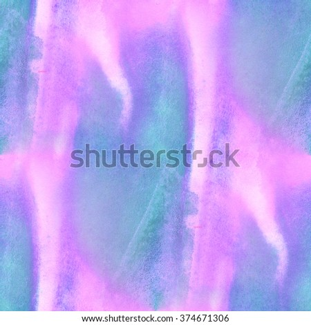 seamless  watercolor background pink purple abstract texture pattern, art water paper design wallpaper  - stock photo