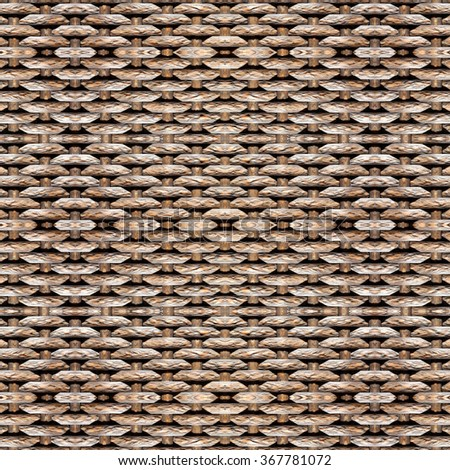 Seamless woven pattern : Decoration wall and floor - stock photo