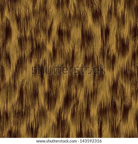seamless yellow grass pattern - stock photo