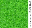Seamlessly green grass texture background. - stock photo