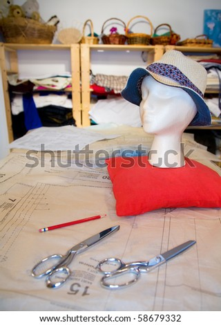 Seamstress shop