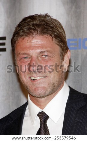 Sean Bean at the Spike TV's 2011 Scream Awards held at the Gibson Amphitheatre in Universal City on October 15, 2011. - stock photo