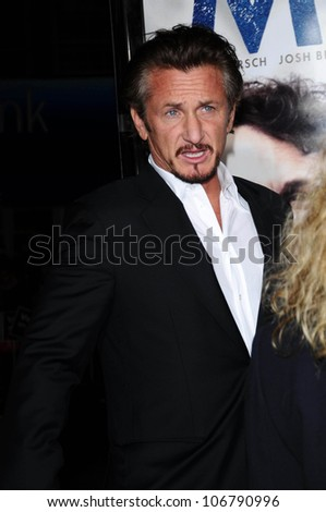 Sean Penn  at the Focus Features World Premiere of MILK, The Castro Theatre, San Francisco, CA. 10-28-08