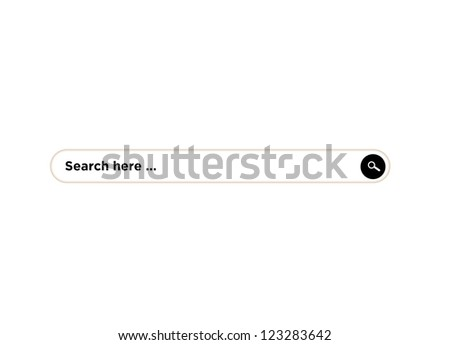 search bar - stock photo