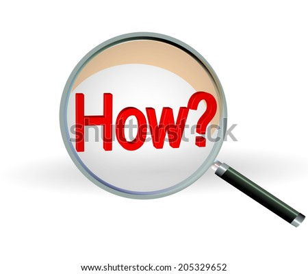 search find how  - stock photo