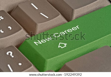 Search for new career in internet