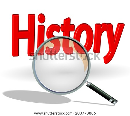 search history - stock photo