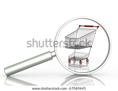Search of sale - stock photo