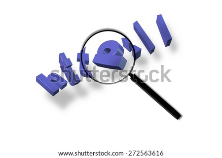 Search the web - stock photo