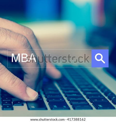 SEARCH WEBSITE INTERNET SEARCHING MBA CONCEPT - stock photo