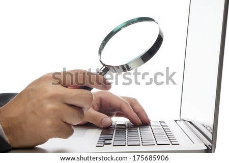 Searching concept.  - stock photo