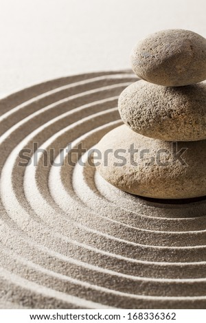 searching for harmony from zen contemplation