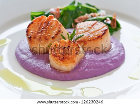 Purple potato puree Stock Photos, Images, & Pictures | Shutterstock