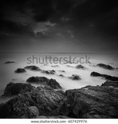 black white rocky background stock images royaltyfree