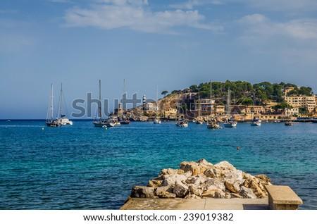 Seaside of Mallorca - stock photo
