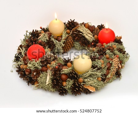 Second Advent wreath