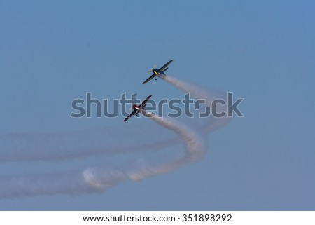 Second airshow held in Cadiz, Andalusia, Spain.                              Festival Aereo de Cadiz September 13, 2009