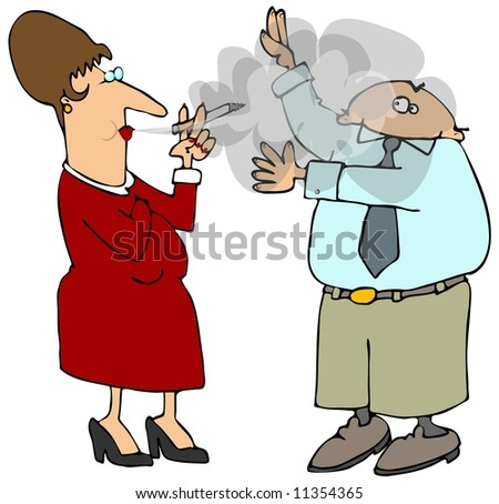 Is this considered second hand smoking?