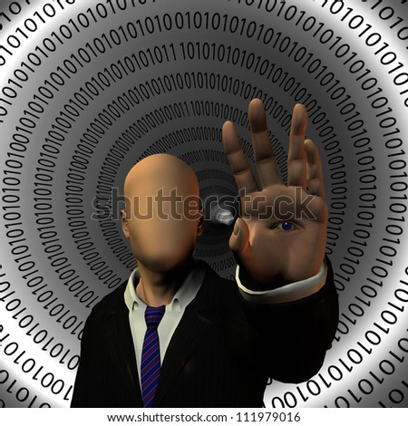 Secure Internet - stock photo